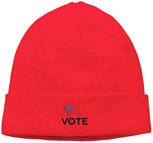 BHGYT Vote Unisex Winter Knitting Wool Gorro Daily Slouchy