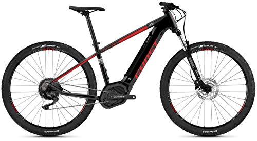 Ghost Hybrid Teru PT B3.9 AL U Bosch 2019 - Bicicleta eléctrica, Color Jet Black/Riot Red/Urban Gray, tamaño XL/50 cm, tamaño de Rueda 29.00
