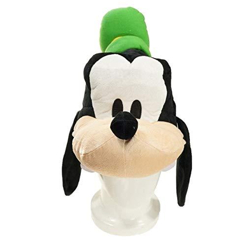 Tylyund Peluches Goofy Dog Stuffed Plush Hat Kawaii Cartoon Goofy Unisize Plush Hat Cute Cosplay Props Regalos Divertidos para Niños Niñas