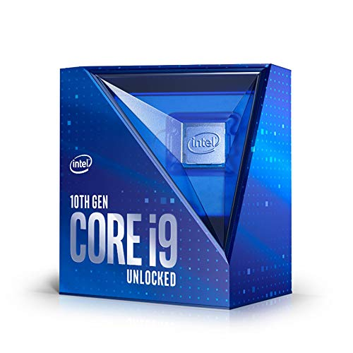 Intel BX8070110900K Core i9-10900K (fase base: 3,70GHz; attacco: LGA1200; 125 Watt) Box