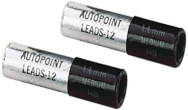 AUTOPOINT PENCIL LEAD REFILL 1.1mm 12 LEADS PER TUBE BLUE BLACK GREEN /& RED