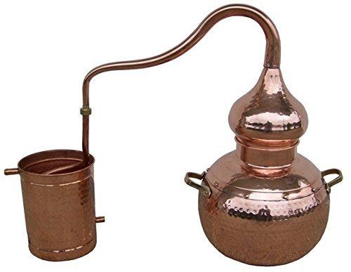 Destilador de aceites esenciales de Cobre. Todos LOS TAMAÑOS.