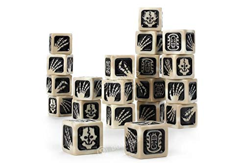 Games Workshop Age of Sigmar: Ossiarch Bonereapers: Dice Set