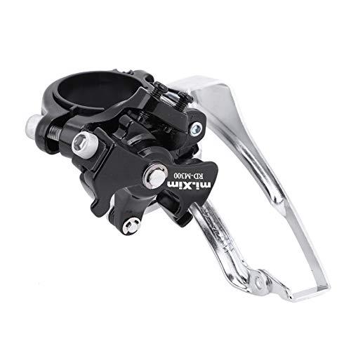 SOONHUA Desviador Delantero de La Bicicleta Desviador de La Bicicleta Rueda Delantera de La Bicicleta de Metal Duro Engranaje Del Desviador de La Cadena 42T para Bicicletas de Velocidad