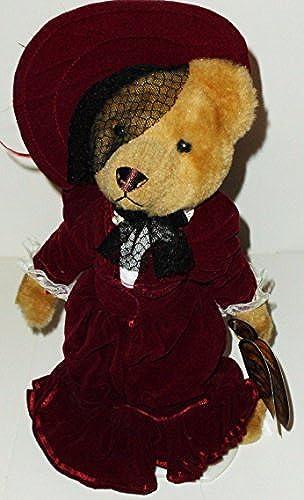 1 X 12  1910's Gabrielle Brass Button Bear Plush
