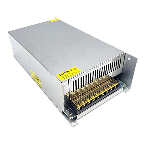 Fransande - Transformador de conmutación para cámara CCTV (CA 170-250 V, DC36 V, 27,8 A, 1000 W)
