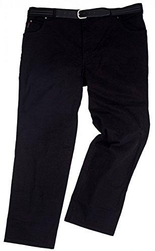 Jeans-Hose Herren Bauch-Übergröße schwarz Pionier