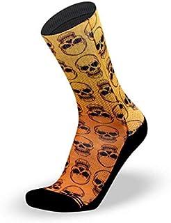 LITHE, Calcetines Skully - Orange Socks