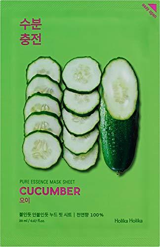 Holika Holika Pure Essence Mask Sheet Gesichtsmaske Cucumber Gurke 1pc