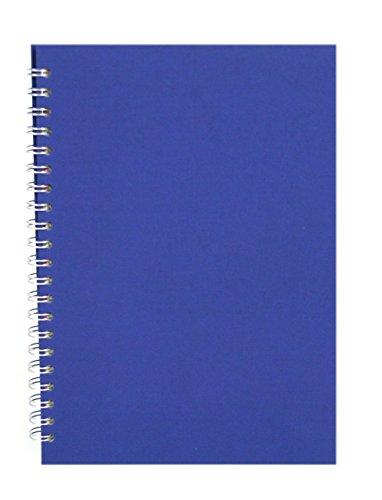 Pink Pig 74452 - Cuaderno de anillas mate (azul) tamaño A4