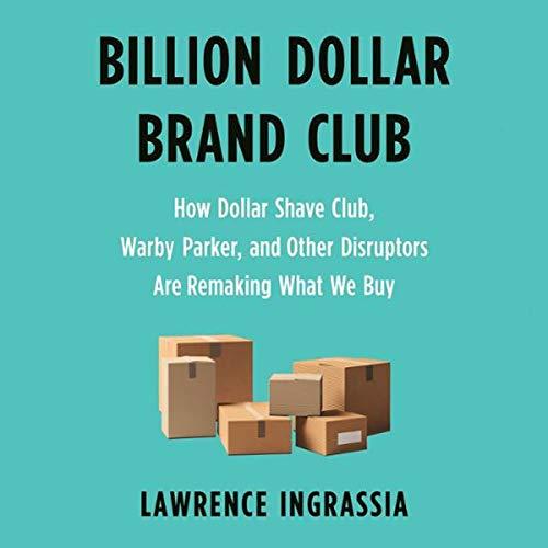 Billion Dollar Brand Club audiobook cover art