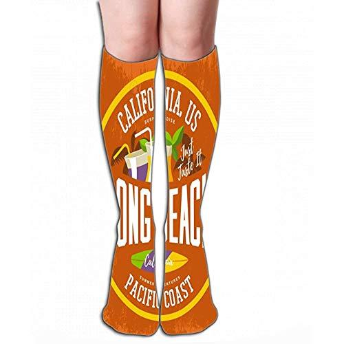 NGMADOIAN nieuw katoen Knee High Fun Sokken 50 cm (19,7