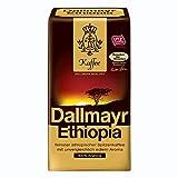 Dallmayr Ethiopia - Café molido, café tostado, 100% árabe, 12 x 500 g