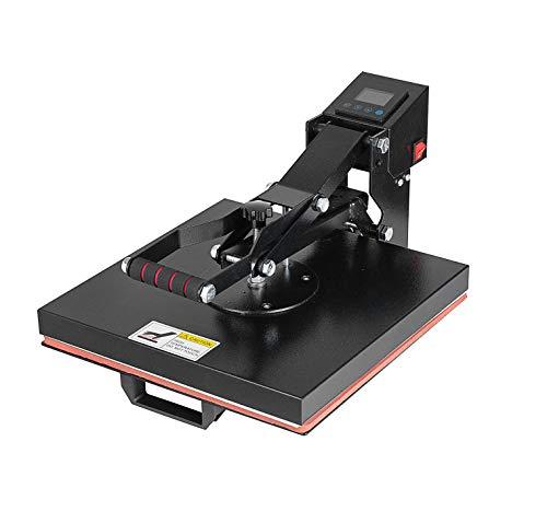 SHZOND Heat Press Machine 15x15 Inch Clamshell Heat Press Digital Sublimation T-Shirt Heat Transfer Machine