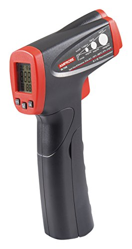 Amprobe 4689984 IR-708 Infrared Thermometer with 8:1 Spot Ratio