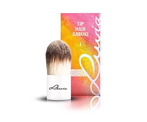 Luvia Cosmetics – Le Jour – I - Tip Hair Kabuki – Make Up Kosmetikpinsel Kabuki im elegantem...