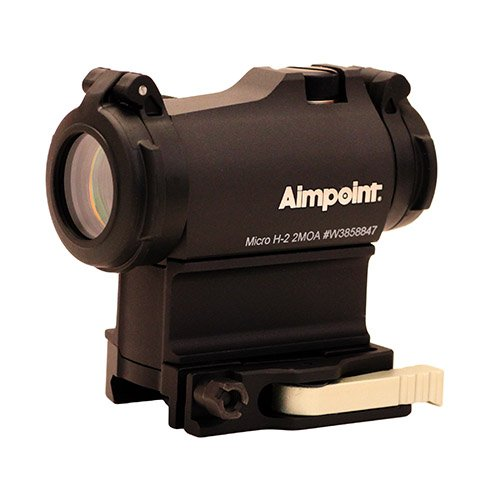 Aimpoint Micro H-2 Red Dot Reflex Sight with LRP Mount and Spacer - 2 MOA - 200211