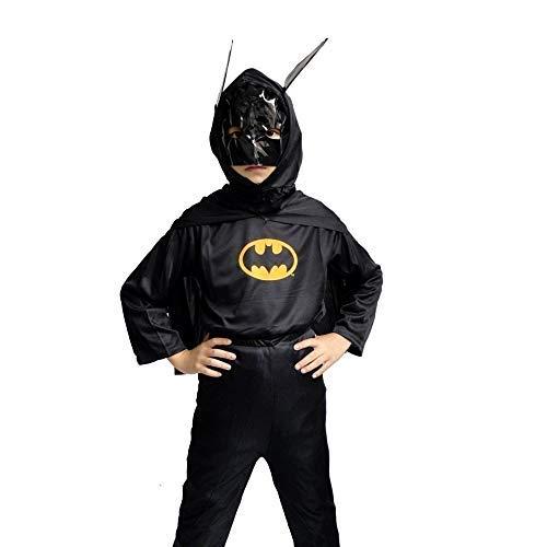 Inception Pro Infinite Disfraz – Disfraz – Carnaval – Halloween – Super héroe – Hombre murciélago – Color negro – Niños – Talla L – 7 8 años – Idea regalo original