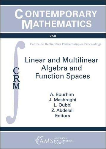 Linear and Multilinear Algebra and Function Spaces (Contemporary Mathematics)