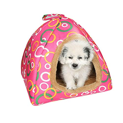 Krastal Cat Supplies Small House Lounges for Cats Winter Pets Lodge Dogs Basket Warm Bedding for Cat Dogs