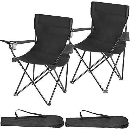 TecTake 800829 Lot de 2 Chaises de Camping...