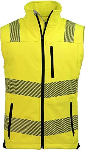 ASATEX Prevent Trendline Warnschutzweste PTW-SW, gelb/schwarz, Gr. L