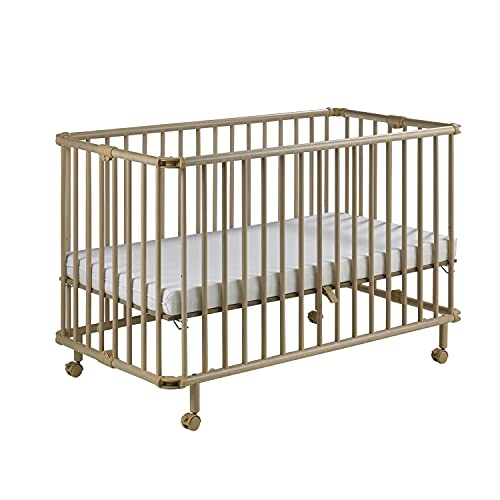 Geuther - Folding Wooden Cot Mayla Natural (60 x 120 cm)