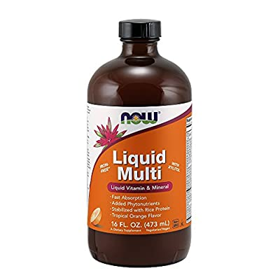 NOW Foods Liquid Multi Vitamin & Mineral Orange