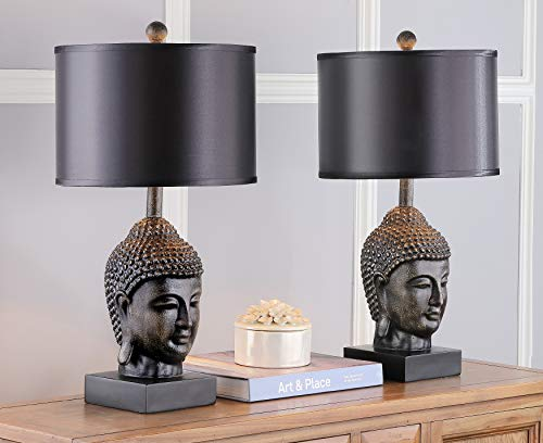Safavieh Lighting Collection Golden Buddha 24.5-inch Table Lamp (Set of 2)