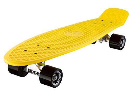 Ridge Retro 27 Skateboard, Unisex, Amarillo, 69 cm