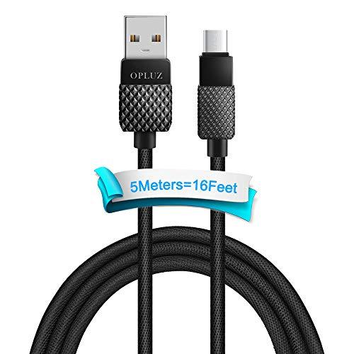 USB Typ C Kabel USB C Ladekabel und Datenkabel Fast Charge Sync schnellladekabel Nylon Ladekabel Kompatibel für Samsung Galaxy S10/S9/S8 Huawei P30/P20 Google Pixel Sony Xperia LG G5 G6 HTC Xiaomi.