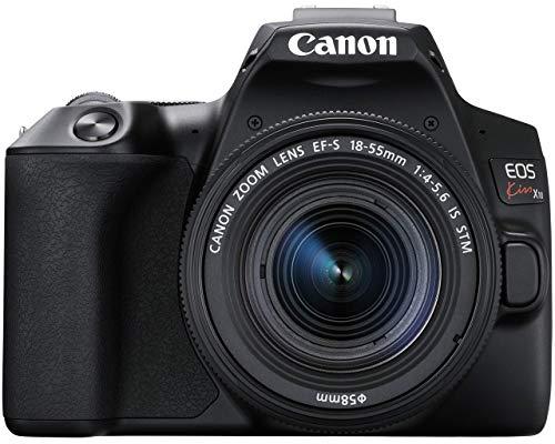 Canon デジタル一眼レフカメラ EOS Kiss X10 標準ズームレンズキット ブラック KISSX10BK-1855ISSTMLK-A