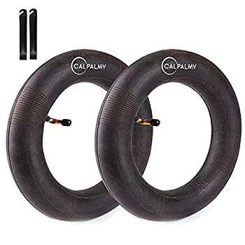 CALPALMY  2 Pack 10x2 Kids Bike Replacement Inner Tubes 10  x 1.75/1.95/2.125  - Inner Tube with 32mm Schrader Valve Compatible with Schwinn Roadster Tricycle Balance Bike and More