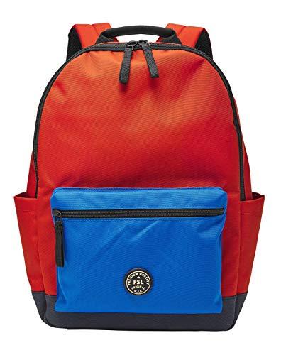 Fossiler Sportrucksack aus rotem Polyester für Herren MBG9496600