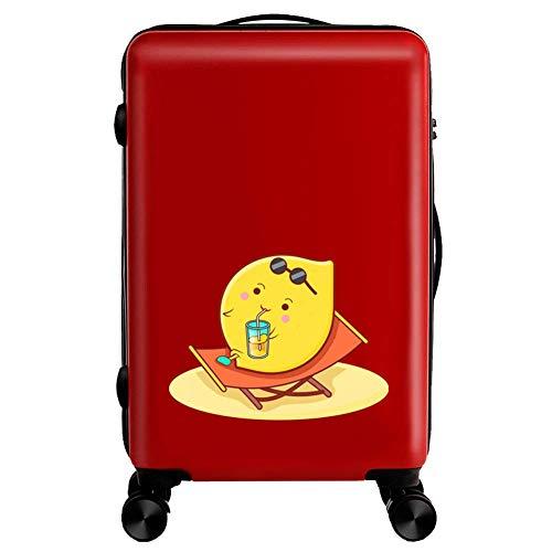 Kinderkoffer, 18,20 inch roltrolleykoffer mannelijke en vrouwelijke studenten boeken notitieboekje reistrolleytas