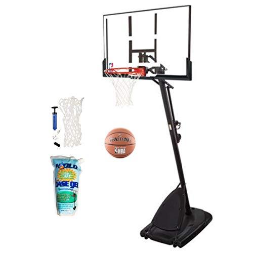 "Spalding Pro Slam Portable MBA 54"" Angled Basketball System"