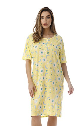 Just Love Short Sleeve Nightgown/Sleep Dress for Women/Sleepwear Celestial Glow large