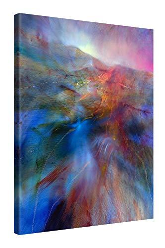 Gallery of Innovative Art Quadro su Tela 75x100cm - Country Colour - Stampa Incorniciata con Spessore di 2cm - Altre Dimensioni Disponibili - Decorazione Moderna per Annette Schmucker