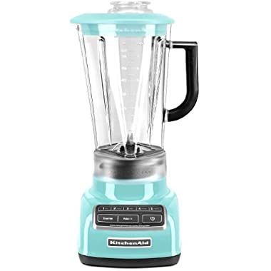 KitchenAid Diamond Vortex 5-Speed Blender, KSB1575 (Aqua Sky Blue)