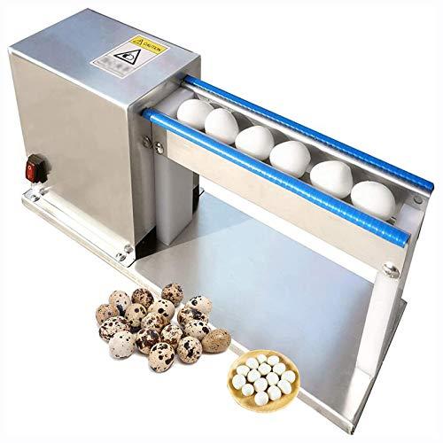 TAOSE Máquina Peladora de Huevos de Codorniz Carcasa de Acero Inoxidable 304 Interruptor Impermeable para Restaurantes y Otras Industrias de Catering 50KG/H