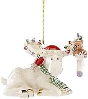 lenox moose ornament 2018