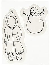 Prima Marketing Cling Stamp - Snow Suit Set
