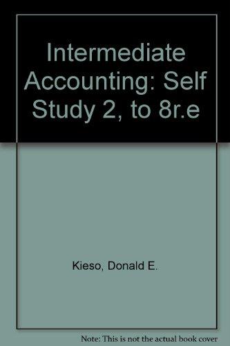 Download Intermediate Accounting, Self-Study 2 0471014214