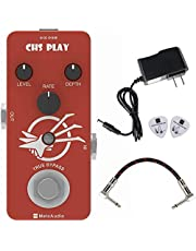 MeloAudio Chorus Guitar Effect Pedal Pure Analog with True Bypass Mini Single Type DC 9V for Electric Guitar and Bass