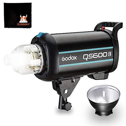 GODOX QS600II 600Ws GN76 2.4G Alta Velocità Studio Strobe Flash Leggero Illuminazione integrata Studio Flash