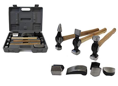 ROAD GENIE 7 Pc. Automotive Body Repair Hammer Kit - TA2107