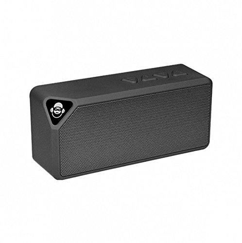 iDance BM-1BK - Altavoz de Bluetooth (Iluminación de Discoteca, Batería, USB, Mini...