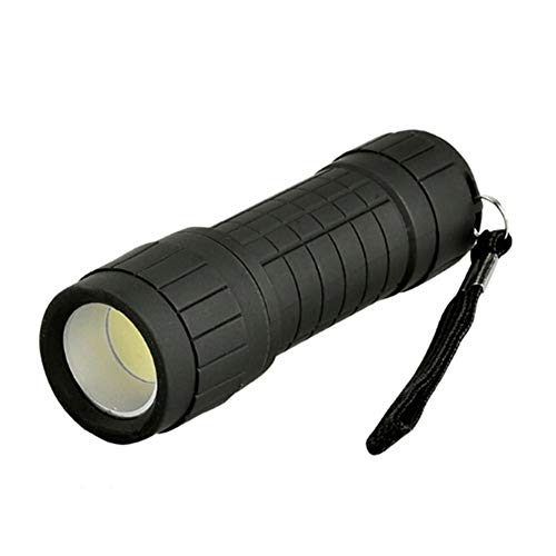 Pequeña Mazorca LED Linterna Portátil Portátil Mini Antorcha Camping Handy Llector De Búsqueda A Prueba De Agua Lámpara Lámpara Luz LED Foco