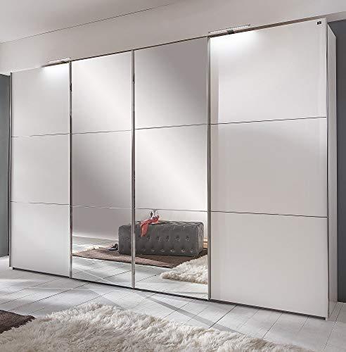 Wimex Kleiderschrank/ Schwebetürenschrank Escape, 4 Türen, (B/H/T) 300 x 236 x 65 cm, Weiß