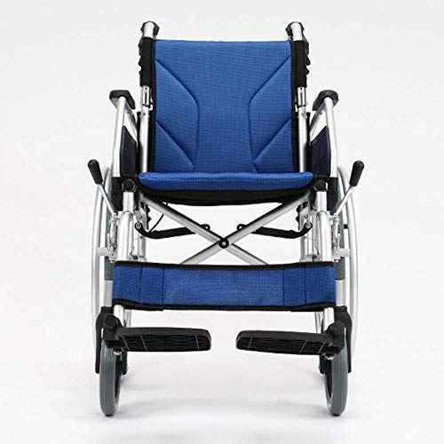 YASEking Ligera Silla de Ruedas Plegable de conducción médica, portátil Silla de Ruedas de la Compra, Ancianos discapacitados aleación de Aluminio Silla de Ruedas ensanchados Vespa Transporte